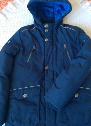 Пуховик зимовий для підлітка куртка зимова пух натуральний для подростка зимняя куртка