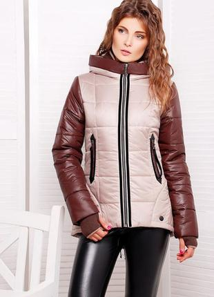 Летняя распродажа!!! стильная новая курточка-пуховик