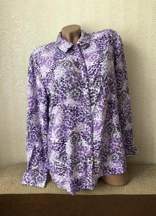 Жіноча рубашка розмір 52