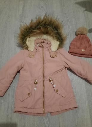 Парка,куртка h&m