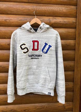 Худи кофта свитер толстовка superdry
