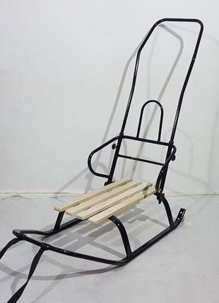 Санки трансформер с колесиками