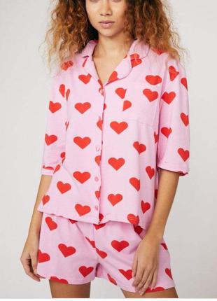 Skinny dip пижама шорты ночнушка