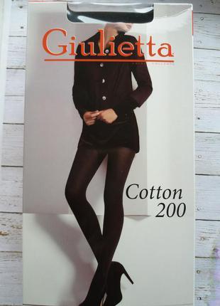 Поделиться:  колготки giulietta cotton 200