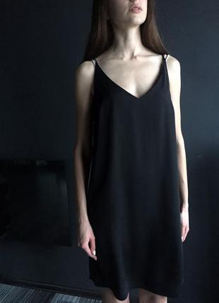 Актуальное минималистичное платье new look