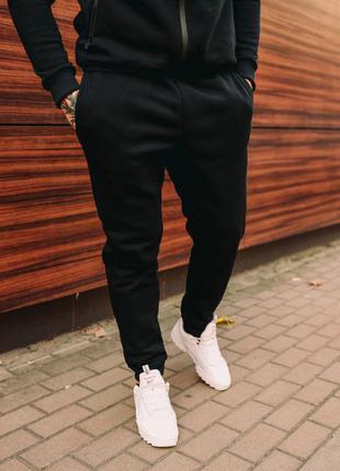 Мужские зимние штаны на флисе