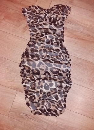 Розкішне коротке плаття