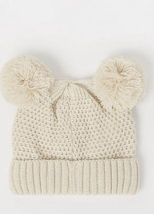 Тепла молочна шапочка