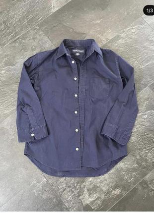 Рубашка синие