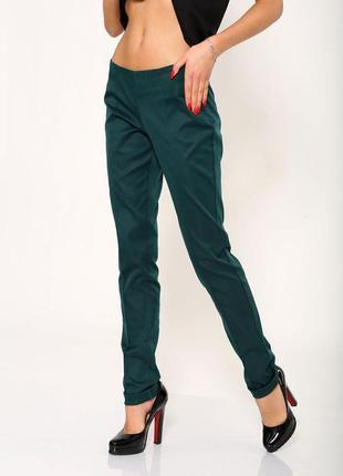 Повседневные штаны брюки на молнии офисные цвета - s