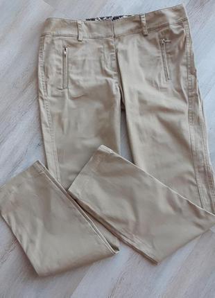 Стильные котоновые брюки