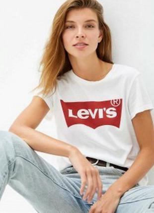 Брендовая футболка levis