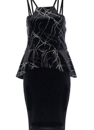 Роскошное бархатное вечернее платье quiz №77