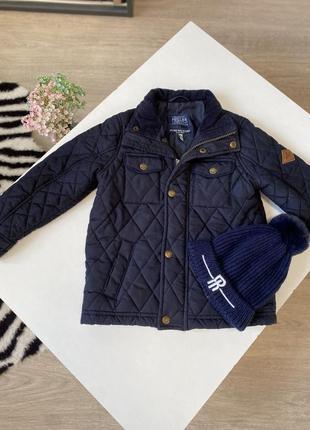 Стёганная куртка на 3 года