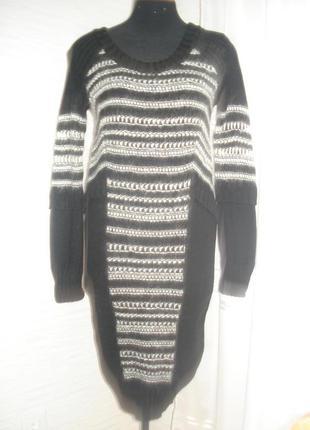 Платье alberta ferretti зима оригинал