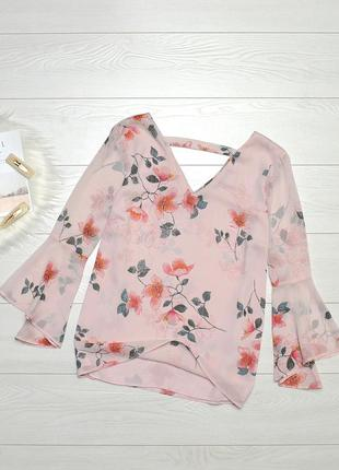 Ніжна блуза в квіти f&f.