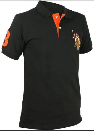 Мужская футболка,рубашка-поло us polo assn.l-ка.