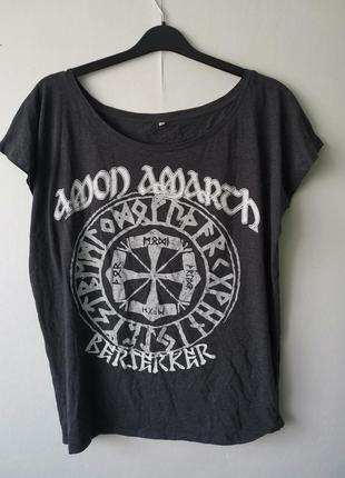 Amon amarth футболка рок группы из швеции - xl