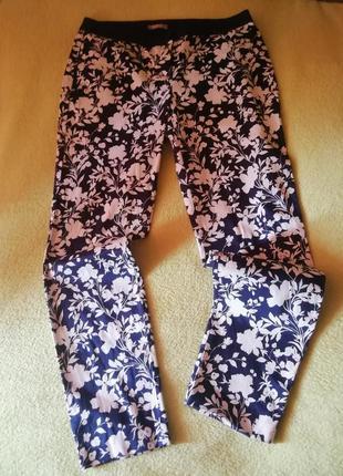 Orsay 46 штаны цветочный принт