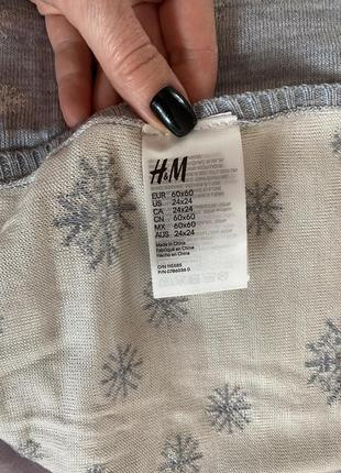 Плед и шапочка h&m