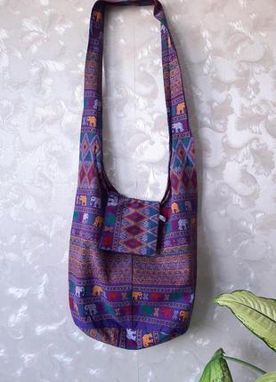 Сумка/рюкзак в индийском стиле