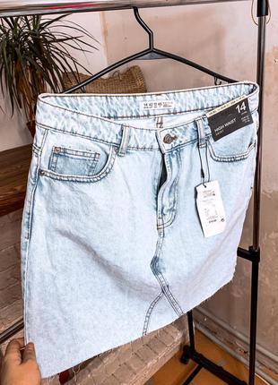 Новая джинсовая юбка , юбка женская , джинсовая юбка