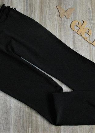 Черные офисные брюки eur 42
