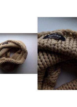 Красивый шарф хомут от bershka