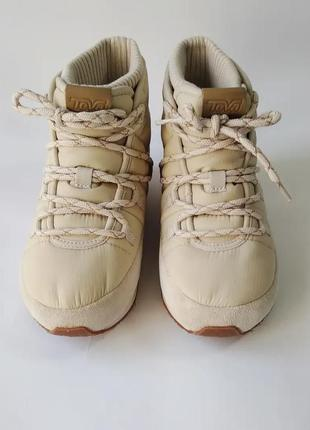 Термо водонепроницаемые ботинки кроссовки teva оригинал 22,5 см стелька