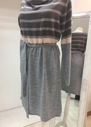 Платье/теплое/трикотажное/ k.woman/ размер l/xl