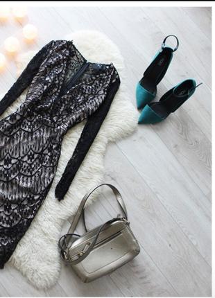 Кружевное платье ax paris
