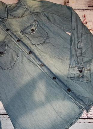 Рубашка джинсовая colins