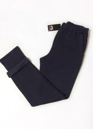 Уютные теплые брюки штани на флисе