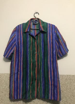 100% шелковая блузочка