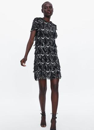 Очень красивое платье zara зара, размер с