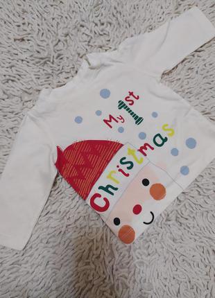 Кофточка новогодняя рождественская my first christmas