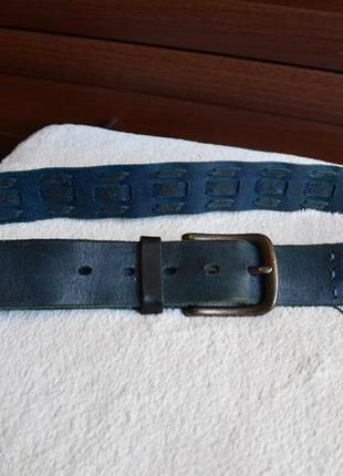 Cowboy belt стильный кожаный ремень.