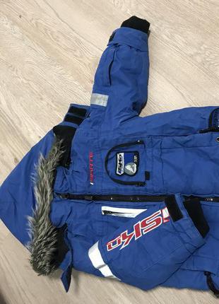Зимова курточка, штани та шапка