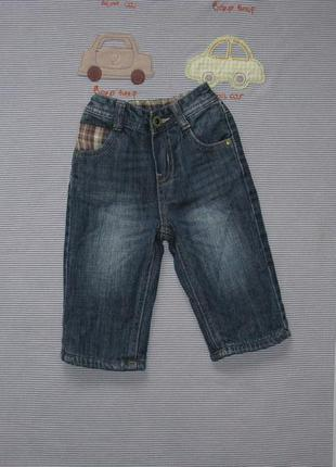 Джинсы * теплые джинсы на 3-6 мес.