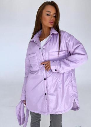 Куртка рубашка в стиле зара