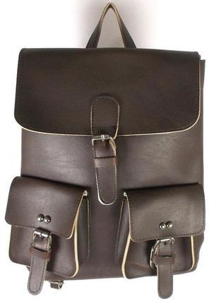 Рюкзак женский жасмин 2000 коричневый