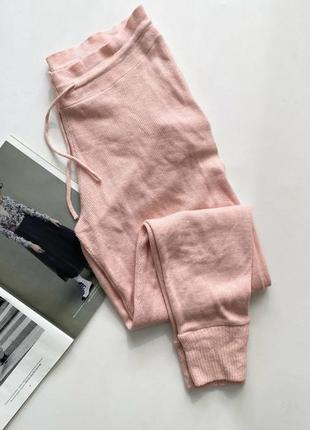 Красивые брюки трикотажные 14 хл