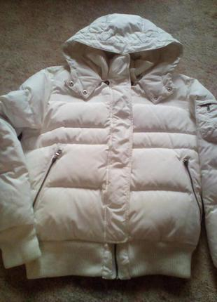 Стильная очень теплая куртка 48-50р.