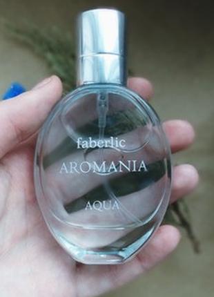 Туалетная вода для женщин aromania aqua от faberlic