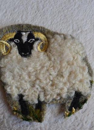 Нашивка овечка