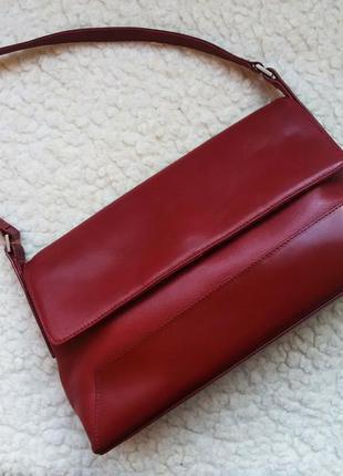 Кожаная сумка tula 100% кожа