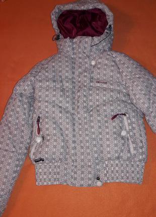 Нереально теплая горнолыжная куртка