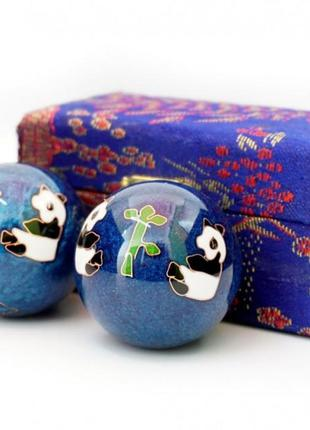 9290017 массажные шары баодинга пара эмаль панды