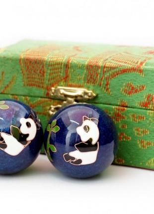 9290015 массажные шары баодинга пара эмаль панды