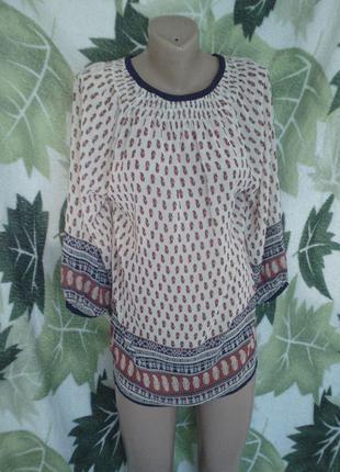 Pena house блузка кофта кофточка шифонавая необычной раскраски